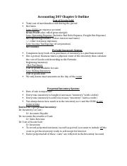Accounting 207 Chapter 5,6,8,9 Outline.docx