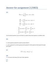 COE 3SK3 2013 Assignment 2 Solutions