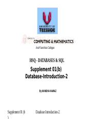 01a db database concepts