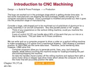 IME 143 Lecture _8 - CNC Machining