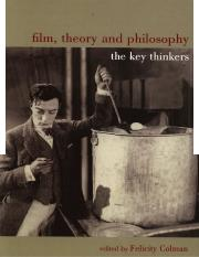 Film, Theory and Philosophy; The Key Thinkers - Colman, Felicity (ed.).pdf