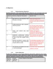 Assignment 3 - PMP template