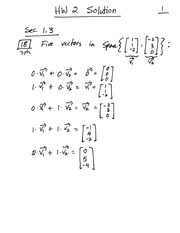 Homework 2 on Linear Algebra Fall 2014