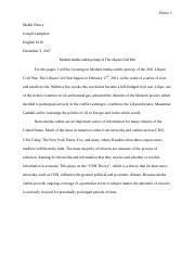 Research Paper-Modern media outlets portray of The Libyan Civil War .docx