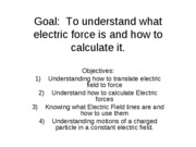 P219lecture02electricforce