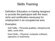 HR skills training