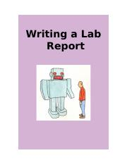Writing a lab report.doc