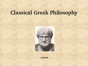 08 Classical Greek Philosophy lecture
