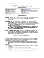 PSYC 2000 Fall 2013 Syllabus_Danielle_Aug-2