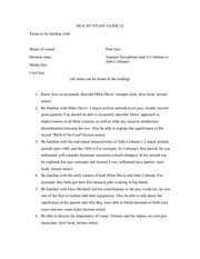 MUS 307 STUDY GUIDE_2