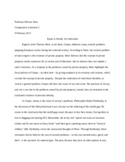 Identity in Utopia Essay