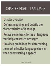 Chapter_08 Language