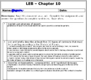 leb chapter 10 part 1