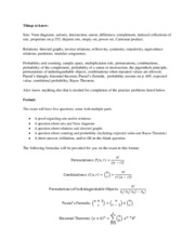 Math 216 Exam 3 Study Guide