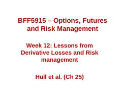 Lecture_Week_12_Lessons from Derivative Loss