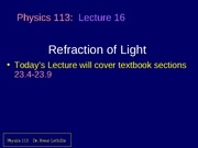 refraction of light 2