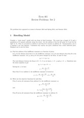 Practice Problems Set 2 Solutions