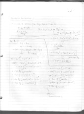 Constant Acceleration notes