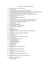 Questions for Twelve Years as a Slave Quiz.docx