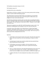 WSJ headlines and questions for January 23 2012