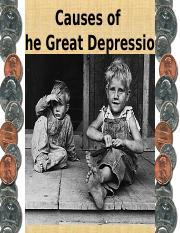 The Great Depression 2010-11.ppt