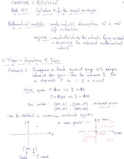 Math 167 Lecture 1 Notes