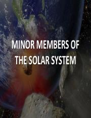 POWERPOINT - Minor Members of Solar System.pdf