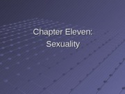 Chapter 11, Sexuality
