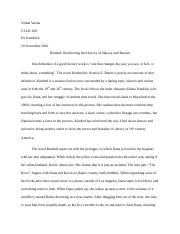 Kindred Slavery Second Paper