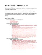 MKTG 3310 Section 4 Study Guide
