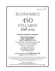 ECON SYLLABUS 450 Fall 2013-3