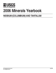 2006 Minerals Yearbook