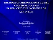 Arthrography-Guided Closed Reduction in CDH