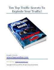 Ten-Top-Traffic-Secrets-to-Explode-Your-Traffic