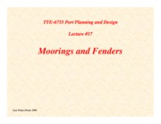Lecture17-Moorings-and-Fenders
