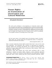 Cultural relativism and universalism in the context of human rights.pdf