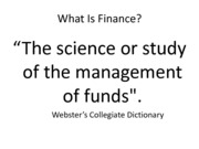 Lecture+6 Introduction to Finance