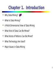 1_What is big data and data mining ppt - Chapter 1