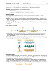 Lecture_2_Specificity