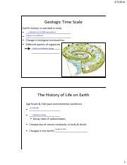 Biol 106 Lecture 8 Notes_The History of Life on Earth pt 1