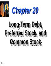 Chapter-20-Long-Term-Debt-Preferred-Stock-and-Common-Stock.ppt