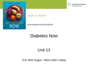 Ch 13 Diabetes Now