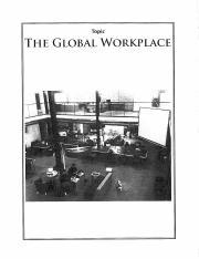 The Global Workplace FPS Research