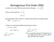 Lesson 4a - Homogeneous