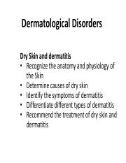 2. Dermatological Disorders