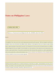 Notes on Philippine Laws_ Oposa vs. Factoran Case Digest (G.R. No. 101083, July 30, 1993).html