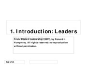 641 C1 Introduction Leaders Matter