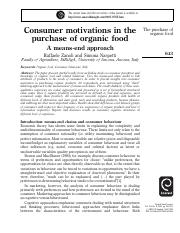 3..Consumer Motivation, involvement and MEC sreading