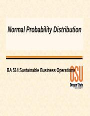 Normal Distribution W16.ppt