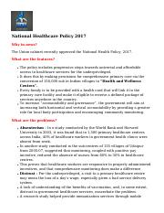 national-healthcare-policy-2017
